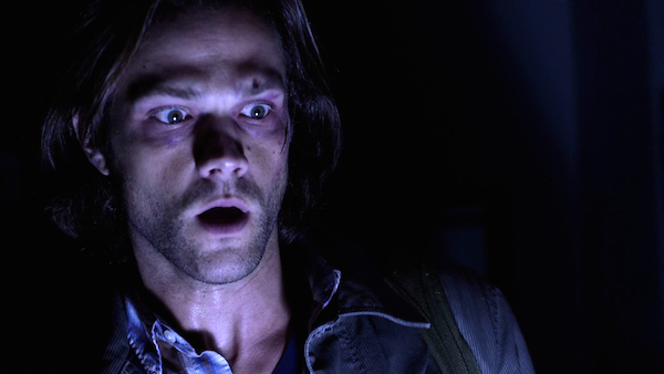 15a Supernatural SPN Season Eleven Episode One S11E1 Out of the Darkness Into the Fire Jared Padalecki Sam Winchester
