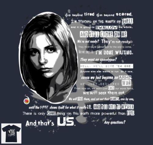 Buffy Speech