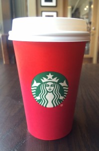 Top 5 Holiday Treats - Starbucks Red Cup (Chestnut Praline Latte)