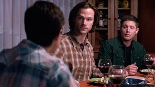 4 Supernatural Season Eleven Episode Twelve SPN S11E12 Forget About Me Sam Dean Winchester Jody Mills Jared Padalecki Jensen Ackles Kim Rhodes