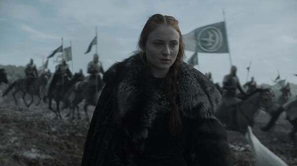 Photo 3. GoT 6x9 Sansa and the Knights of the Vale