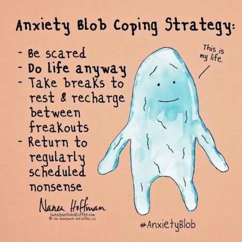 Anxiety-Blob-Coping-Strategy