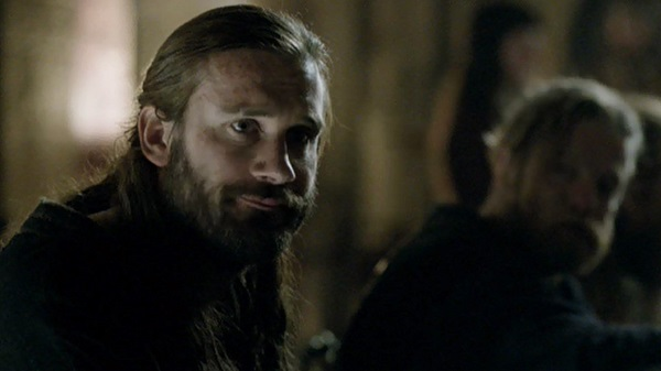 Here's a rollback question: What animal is Rollo's pre-conversion, Viking totem?
