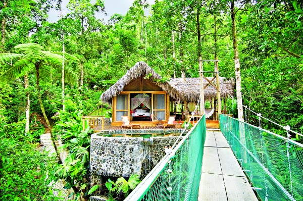 Pacuare Lodge in Costa Rica for FD Love magazine. Photograph supplied by Pacuare Lodge.