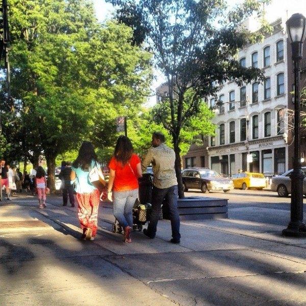 Atlantic Avenue in Brooklyn