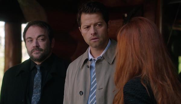 9-supernatural-season-twelve-episode-three-spn-s12e3-the-foundry-crowley-castiel-rowena-mark-sheppard-misha-collins-ruth-connell