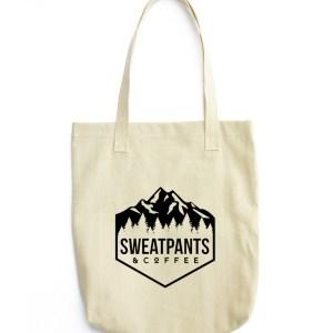 Sweatpants & Coffee Adventure Tote bag