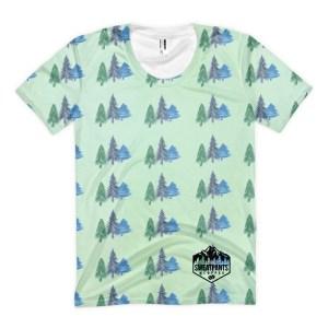 Festive Forest Women's sublimation t-shirt