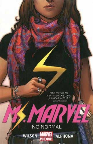 Ms. Marvel Volume 1: No Normal by G. Willow Wilson