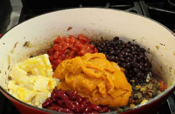 Pumpkin chili recipe