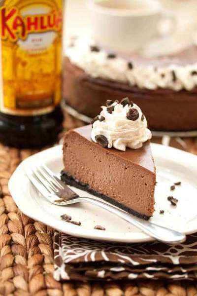Cappuccino Chocolate Cheesecake recipe by Tide & Thyme