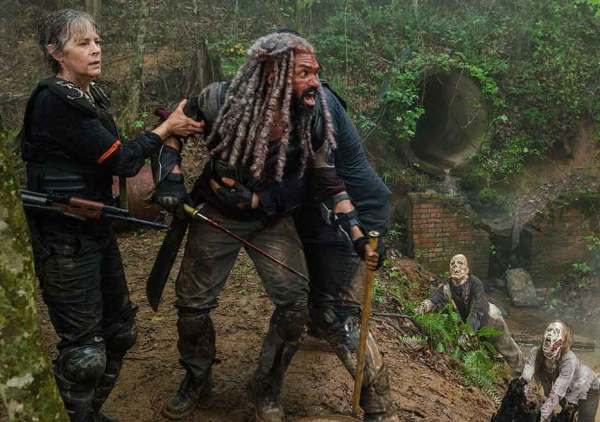 The Walking Dead season 8 episode 4 Some Guy Khary Payton Ezekiel Melissa McBride Carol