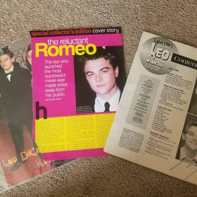 A few magazine clippings from 1999