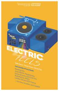 electric feels poster march 14