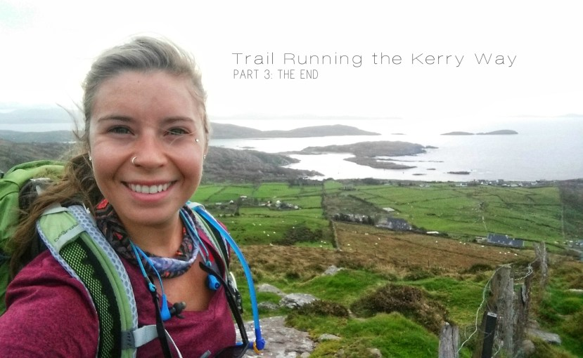 Hanging out above the Atlantic Ocean near Derrynane National Park on the Kerry Way. Photo: Sara Weaver, Oct. 2017.