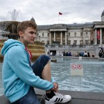 Mickey at Trafalgar Square