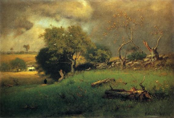 George Inness, The Storm (1885)