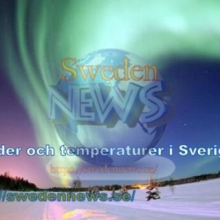 väder och temperaturer i Sverige