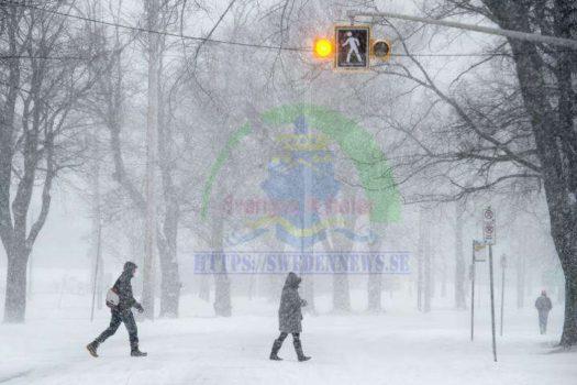 موسم الثلوج ينطلق رسميا في السويد