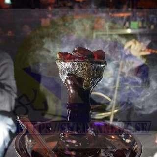 ممنوع التدخين وممنوع النرجيلة ( الشيشة )