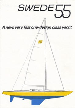 Brochure introducing Swede 55 © Swedesail