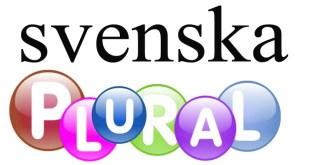 الجمع في اللغة السويدية (blural)