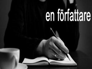 en författare