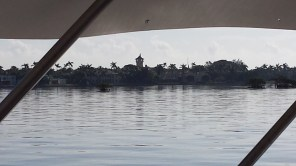 The tower of Mar-a-Lago.