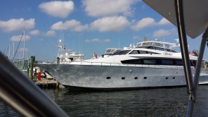 We would recognize the names of the owners of several of these megayachts.