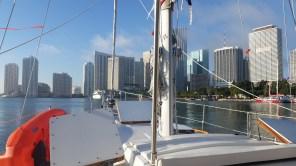 Passing through Miami