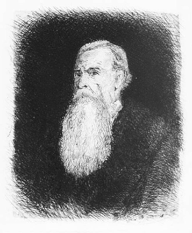 Old man with big white beard