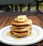 Recipe Here: https://sweeeetaboutme.wordpress.com/2016/11/20/banana-pancakes/