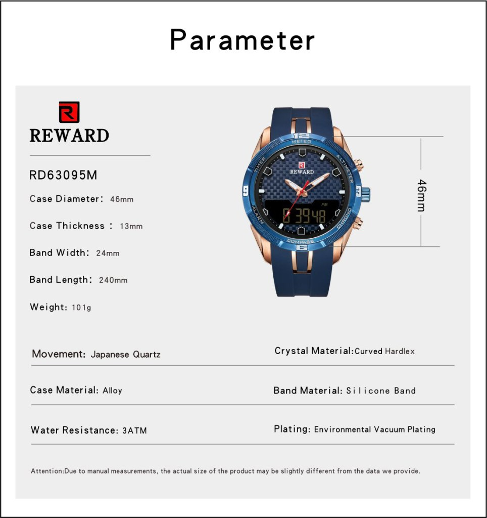 Men's Watch With Silicone Band 5