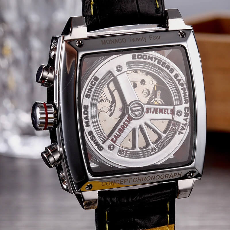 Automatic Watch Leather Strap 5