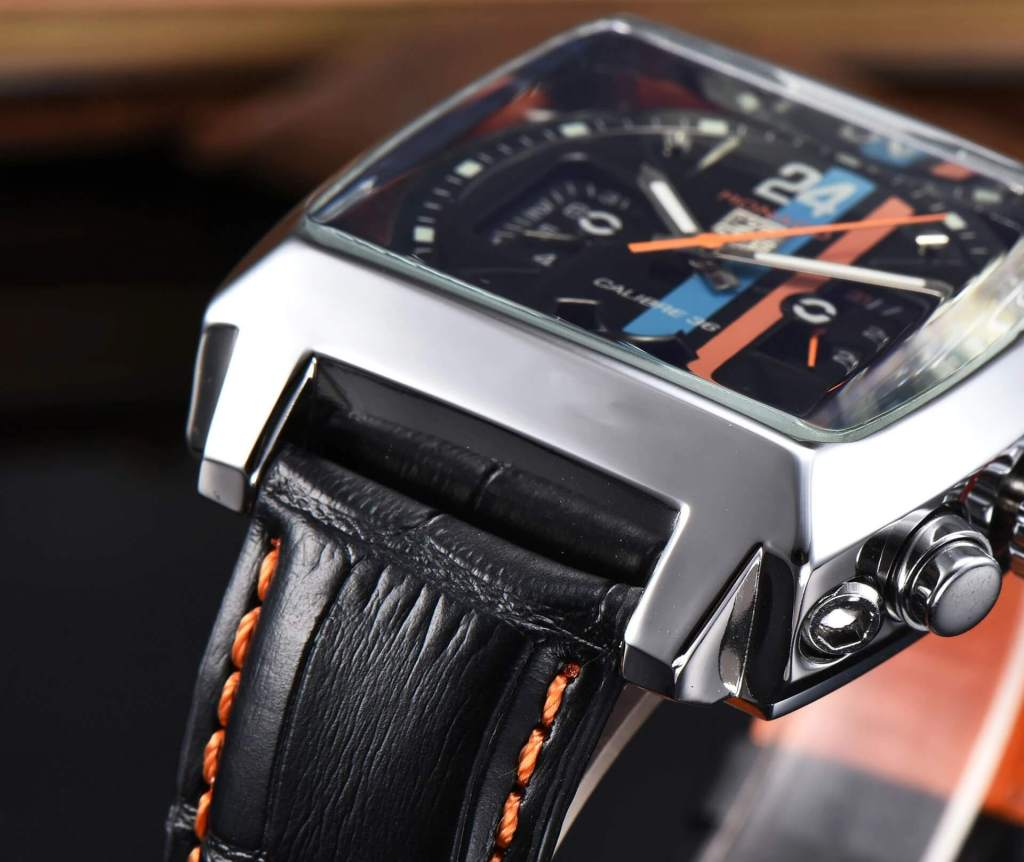 Automatic Watch Leather Strap 1