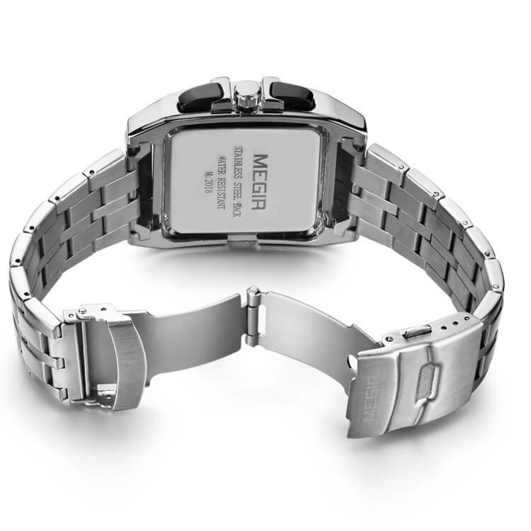 Stainless Steel Chronograph Watch 3