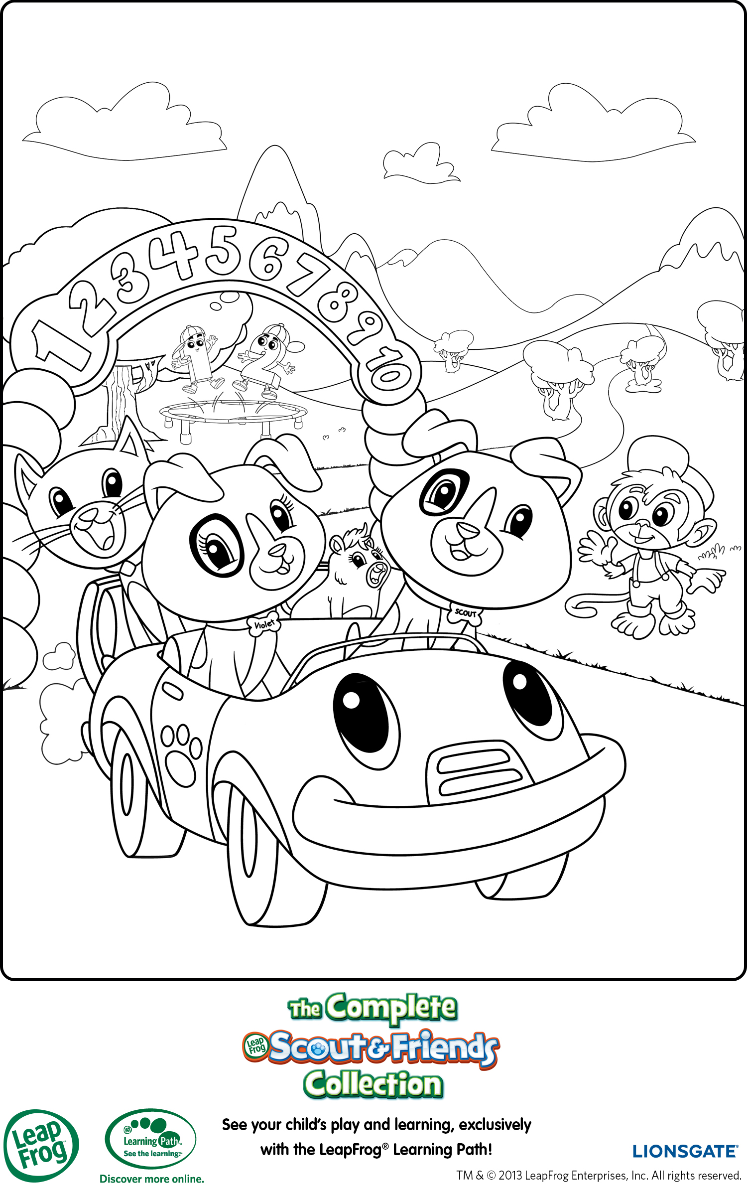 leapfrog printable coloring page mama likes this