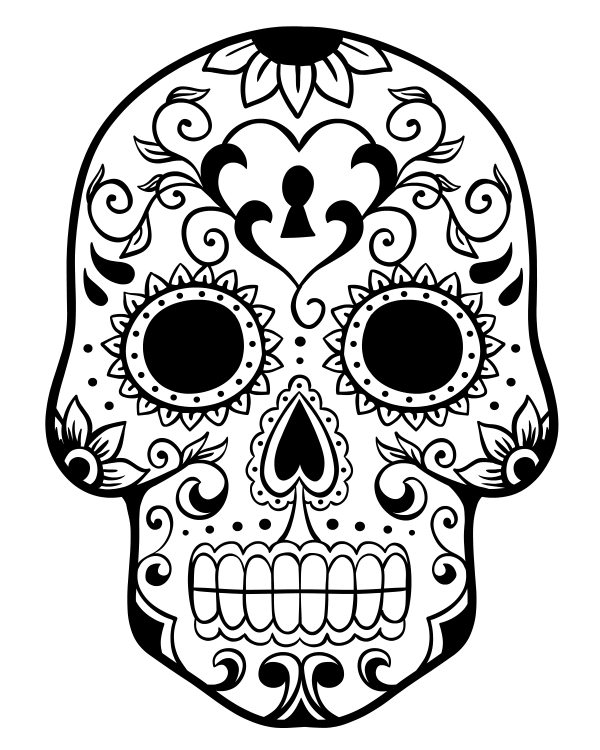grim reaper skull coloring page skull coloring page wemakesense co