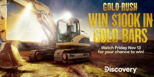 Discovery Channel Gold Rush Giveaway 2020
