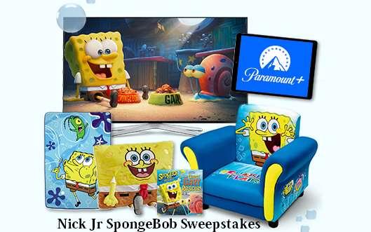 Nick Jr Ultimate SpongeBob Watch Party Sweepstakes 2021