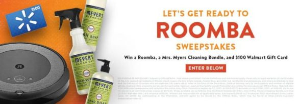 INSP Let's Get Ready to Roomba Sweepstakes 2021