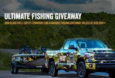 Black Rifle Coffee Ultimate Fishing Giveaway