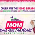 MOM Moms Run the World Sweepstakes