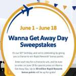 Southwest Wanna Get Away Sweepstakes