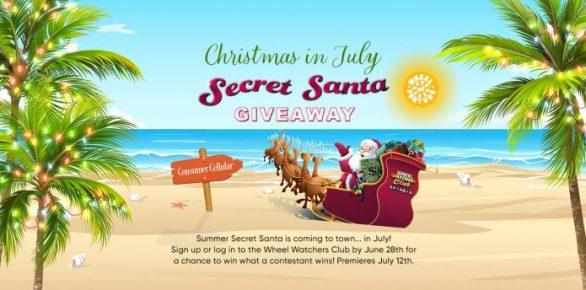 Wheel Of Fortune Secret Santa Holiday Giveaway 2021