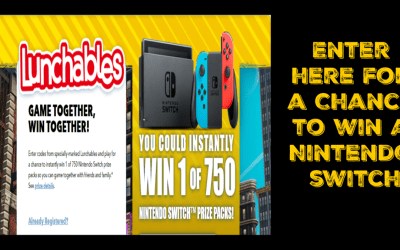 Lunchables - Gaming Together Giveaway