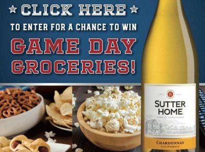 Sutter Home Groceries Sweepstakes 2021