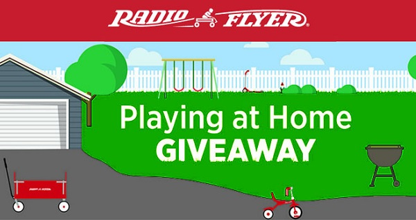 Radio Flyer Playing at Home Giveaway: Win Toy Daily!