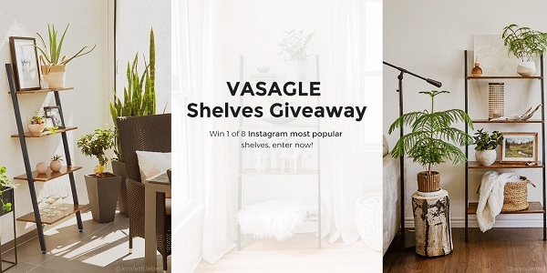 Songmics Vasagle Shelves Giveaway