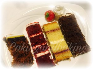 Wedding cakes selection